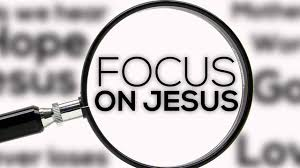 Image result for focus on christ